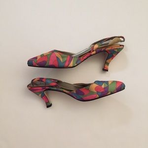 93418c7ea0 Dolce by Pierre Multi-Color Heels